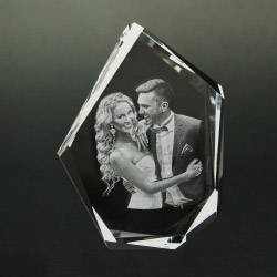Fotogeschenke 3D Glasfoto DIAMOND XL 1-6 Personen