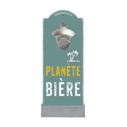contento Wand-Flaschenöffner PLANÈTE BIÈRE