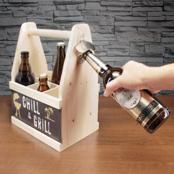 contento Beer Caddy CHILL & GRILL