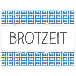 contento Tischset Vinyl BROTZEIT
