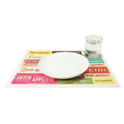 contento Tischset Vinyl BON APETITO