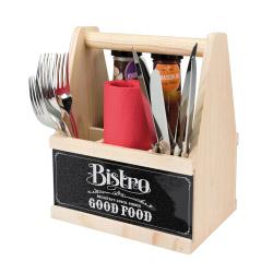 contento Besteck Caddy BISTRO GOOD FOOD