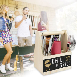 contento Besteck Caddy CHILL & GRILL