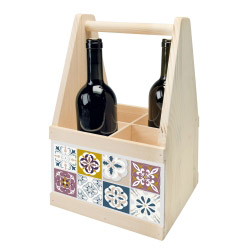 contento Wine Caddy MOSAIK FEIN