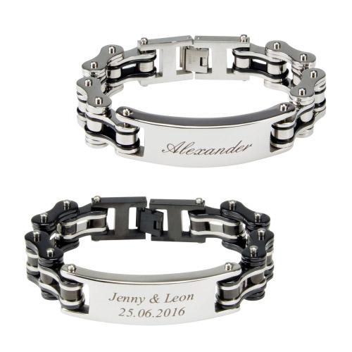 Armband gravur manner echt silber