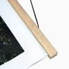 clipwood Set quadratisch 100 x 100 Eiche