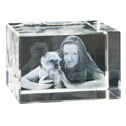 Fotogeschenke 3D Foto in Glas 120x80x80 quer