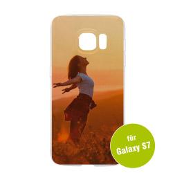 Fotogeschenke Foto Handyhülle transparent für Galaxy S7