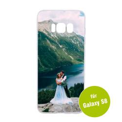 Fotogeschenke Foto Handyhülle transparent für Galaxy S8
