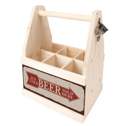 contento Beer Caddy ICE COLD BEER SOLD HERE