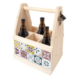 contento Beer Caddy MOSAIK FEIN