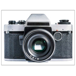 contento Tischset Vinyl Kamera