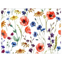 contento Tischset Vinyl Flowers
