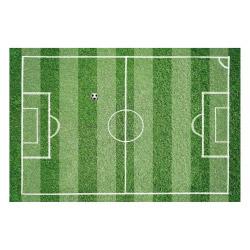 contento Vinyl Teppich MATTEO 60x90 cm Fußballfeld