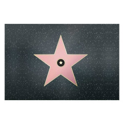 contento Vinyl Teppich MATTEO 60x90 cm Walk of Fame