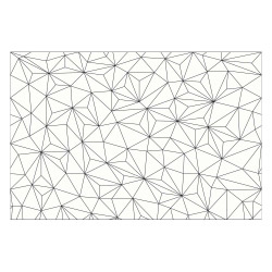 contento Vinyl Teppich MATTEO 60x90 cm Triangle