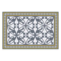 contento Vinyl Teppich MATTEO 60x90 cm Fliesen 7 Blau