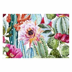 contento Vinyl Teppich MATTEO 90x60 cm Exotic Cactus