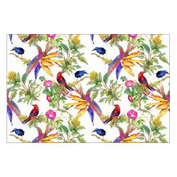contento Vinyl Teppich MATTEO 60x90 cm Exotic Parrots