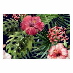 contento Vinyl Teppich MATTEO 60x90 cm Exotic Flower