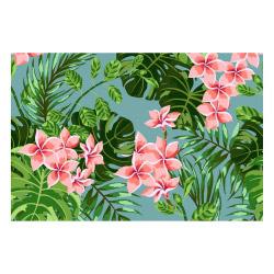 contento Vinyl Teppich MATTEO 60x90 cm Farns & Blossom
