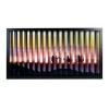 zickzackfoto personalisiert - 63 x 33 cm Rahmen schwarz