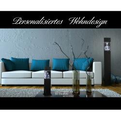 Fotogeschenke Leuchtstele Schwarz S hoch für 90x60x60 hoch