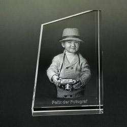 Fotogeschenke 3D Glasfoto TOWER S 1-2 Personen
