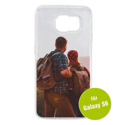 Fotogeschenke Foto Handyhülle transparent für Galaxy S6