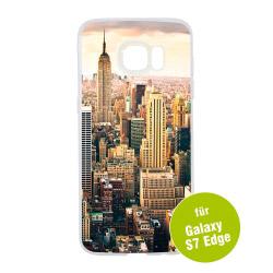 Fotogeschenke Foto Handyhülle transparent für Galaxy S7 Edge