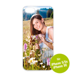 Fotogeschenke Foto Handyhülle transparent für iPhone 5 / 5s / SE