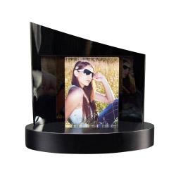 Fotogeschenke Foto auf Glas + Clarisso® Sockel - SET - 105x80x19 hoch