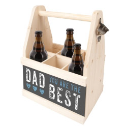 contento Beer Caddy DAD YOU ARE THE BEST