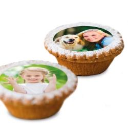 Fotogeschenke Muffinaufleger mit Foto Ø 5 cm Set 15 St.