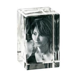Fotogeschenke 3D Foto in Glas 90x60x60 hoch