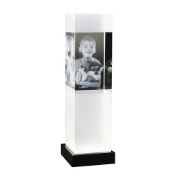 Fotogeschenke 3D Glasfoto SKY L 1-4 Personen