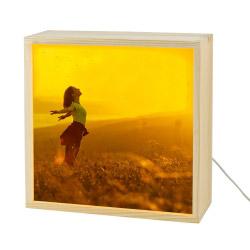 Fotogeschenke Foto Lightbox 25 x 25 cm