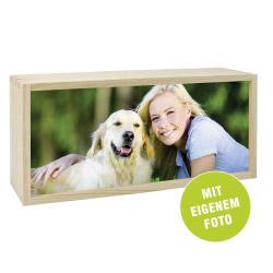 Fotogeschenke Foto Lightbox 35 x 15 cm quer