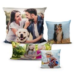 Fotogeschenke Premium Foto Kissen Seitenschläfer 40x140 beidseitig bedruckt