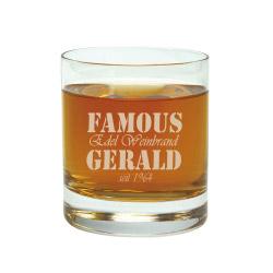 Fotogeschenke Trinkglas mit Gravur