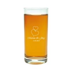 Fotogeschenke Longdrinkglas mit Gravur