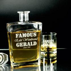 Fotogeschenke Geschenkset Gravur auf Glas