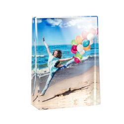 Fotogeschenke Glasframe mit Fotodruck - L hoch