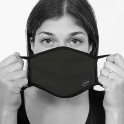 contento Lamask Mund-Nasen-Bedeckung SCHWARZ