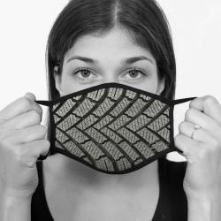 contento Lamask Mund-Nasen-Bedeckung REIFEN