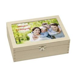 Fotogeschenke Teebox personalisiert mit Foto