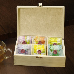 contento Teebox mit Kreidetafelfunktion
