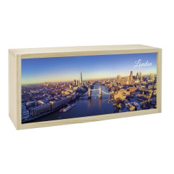 contento Lightbox LONDON 35x15 cm