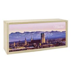 contento Lightbox MÜNCHEN 35x15 cm