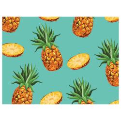 contento Tischset Vinyl Ananas
